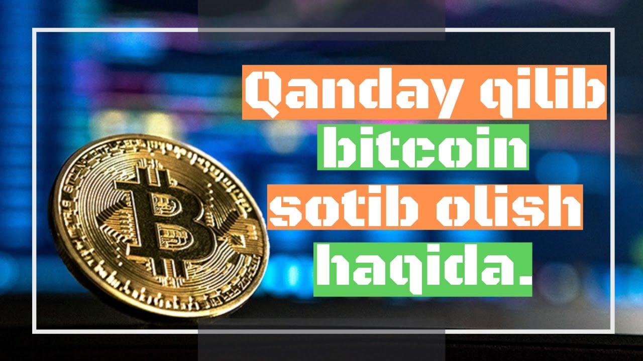 bitcoin sotib olish