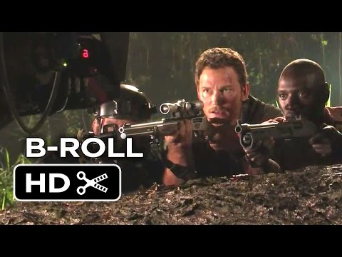 Jurassic World B-ROLL (2015) - Chris Pratt, Jake Johnson Dinosaur Adventure HD