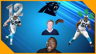 Carolina Panthers Luke Kuechly Ranked 12 On NFL Top 100 Daryl Williams Deal Far From Done|LCameraTV