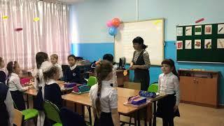 "Урок английского языка! ""My school days"" 2 класс"