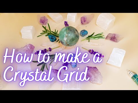 How to create a crystal grid (for healing / health) thumbnail