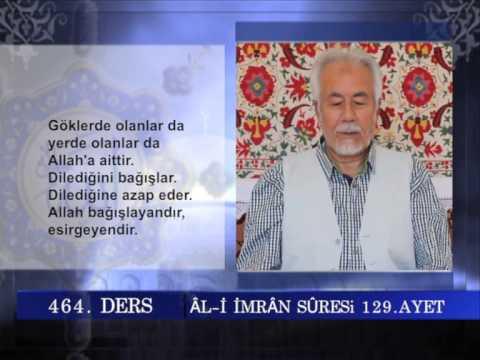 464 TEFSIR GUNLUGU MAHMUT TOPTAŞ ALİ İMRAN SURESİ AYET 128 136