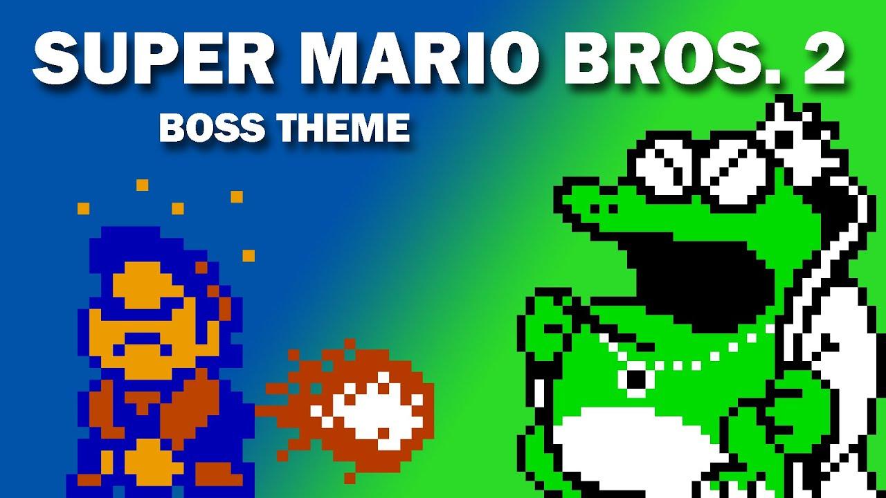 Super Mario Bros 2 Boss Theme Cover Youtube