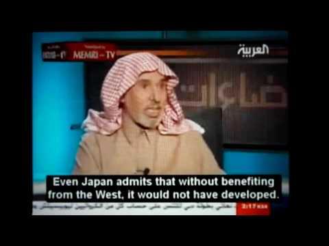 ARABIAN MAN PROMOTING WESTERN CIVILIZATION!