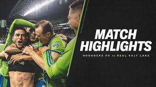 HIGHLIGHTS: Seattle Sounders FC vs. Real Salt Lake | October 23, 2019