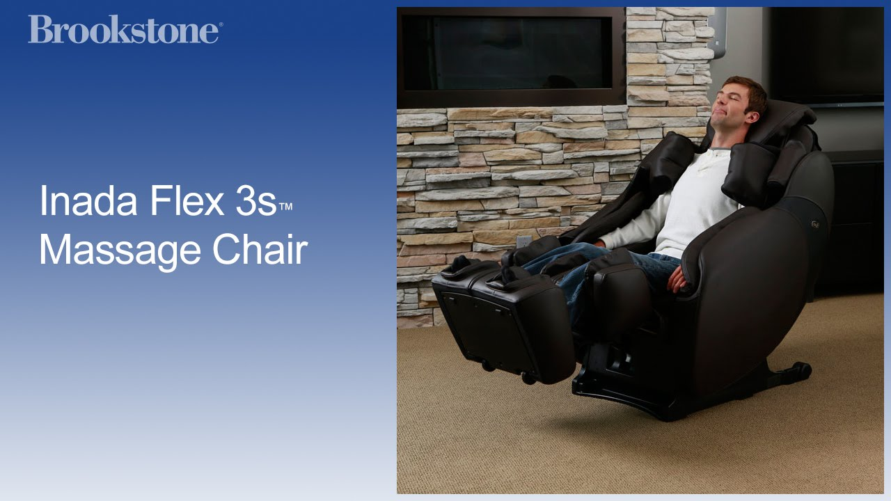 inada flex 3s massage chair brookstone inc