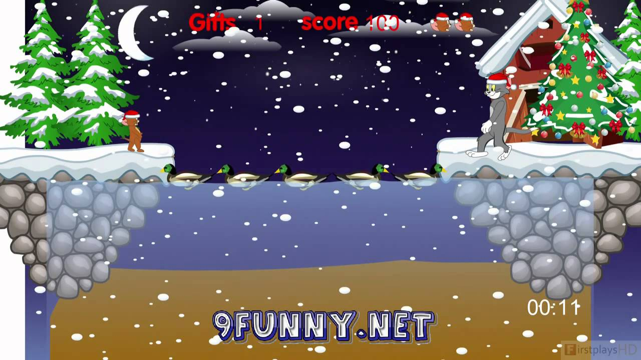 Tom and Jerry: Christmas Gifts - PC Gameplay HD 720P - YouTube