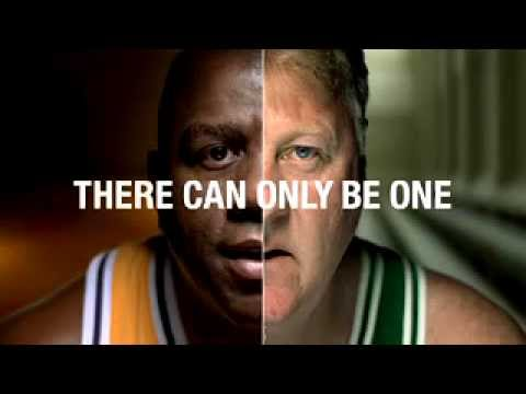 NBA Finals Rivalries: Lakers Vs. Celtics ::: Bird & Magic