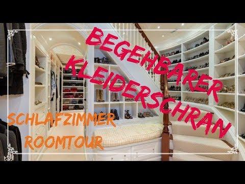 Schlafzimmer Roomtour // begehbarer Kleiderschrank // Alles NEU