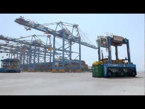 ADPC: First Commercial Vessel at Khalifa Port 18th July 2012