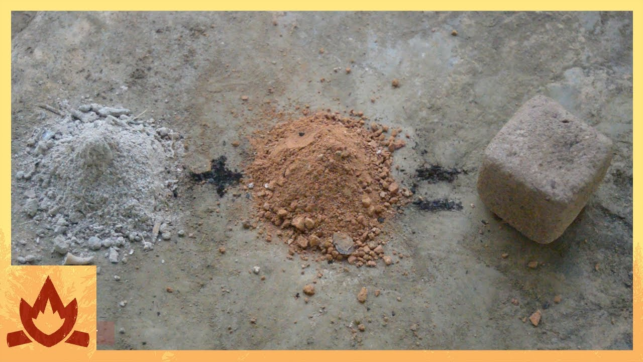 Primitive Technology Wood Ash Cement