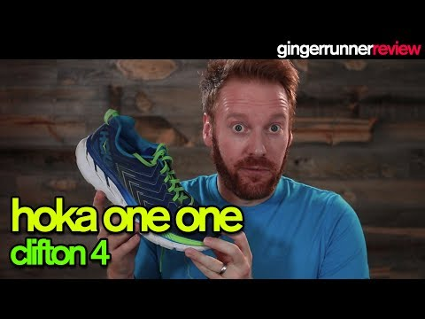 HOKA ONE ONE CLIFTON 4 REVIEW | The Ginger Runner