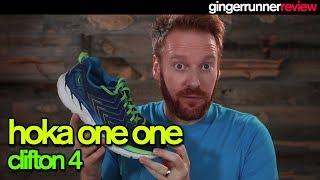 HOKA ONE ONE CLIFTON 4 REVIEW | The Ginger Runner