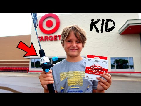 KID Approved Target Combo Fishing CHALLENGE!!!