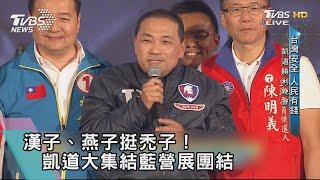 【TVBS新聞精華】漢子、燕子挺禿子!凱道大集結藍營展團結