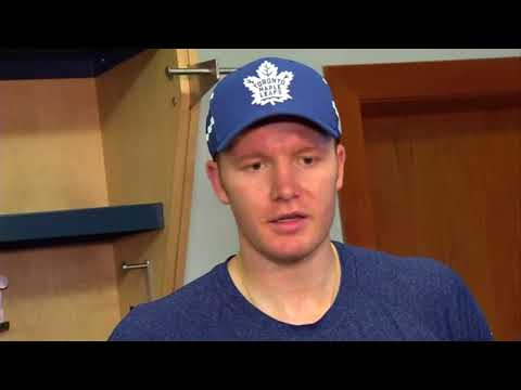 Maple Leafs Practice: Frederik Andersen - October 13, 2017