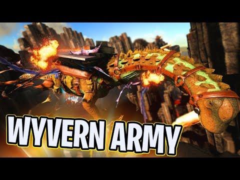 Ark: Ragnarok! - TITANOSAUR VS WYVERN ARMY!! [#27] |Ragnarok Gameplay|