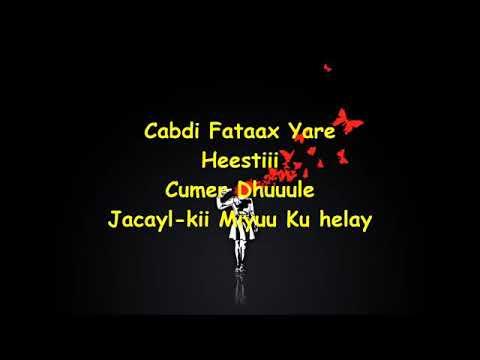 Download C/fatax yare heetii jacaylkii miyuu Ku helay