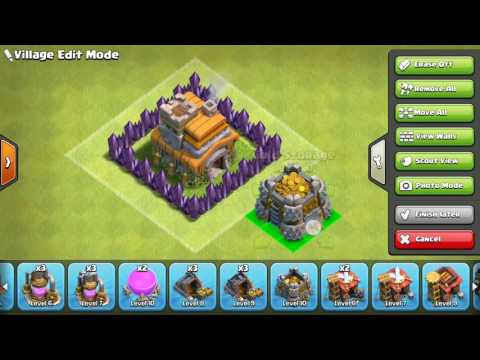 NEW EDITOR MODE FOR CLASH OF CLANS UPDATE 2016- DG Hunter