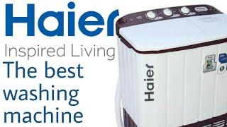 || Best washing under ₹9,000 || Haier/Semi automatic washing machine unboxing in hindi
