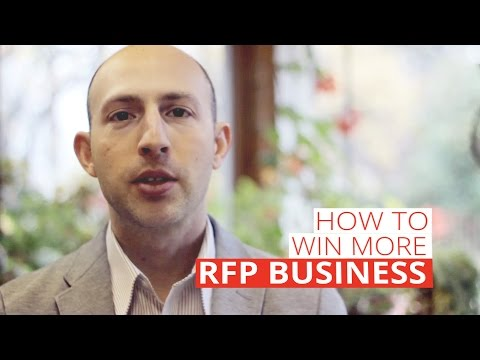 How to Win More RFP Business