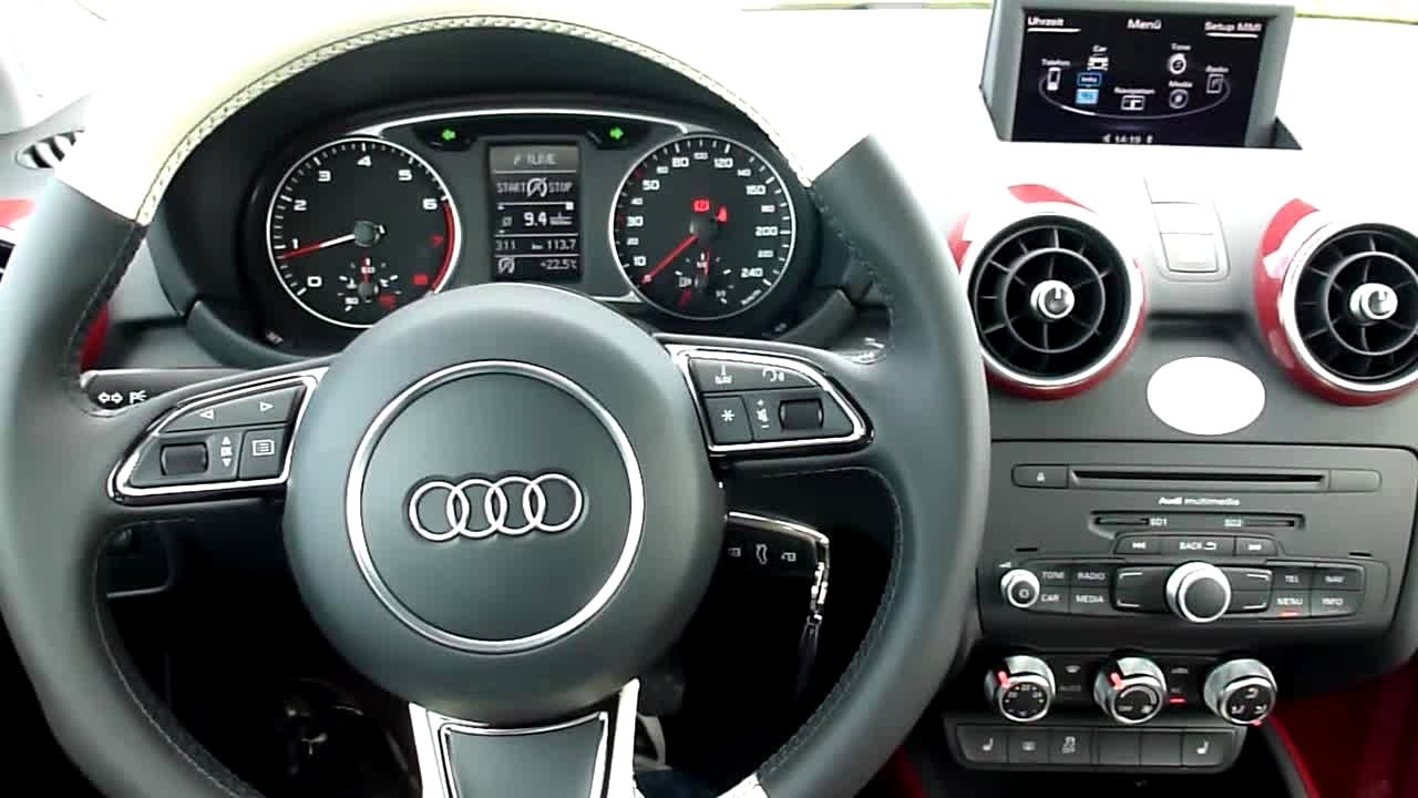 2011 audi a1 12 tfsi ambition interieur in detail 23 youtube