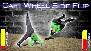 How To CARTWHEEL and CARTWHEEL SIDE FLIP