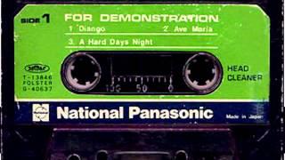 Cassette National Panasonic 1978  For Demonstration