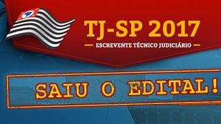 Concurso TJ SP - EDITAL ABERTO - Análise Edital