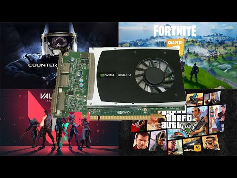 Nvidia Quadro 2000 1GB GDDR5 In 2021. Tested In 8 Games.