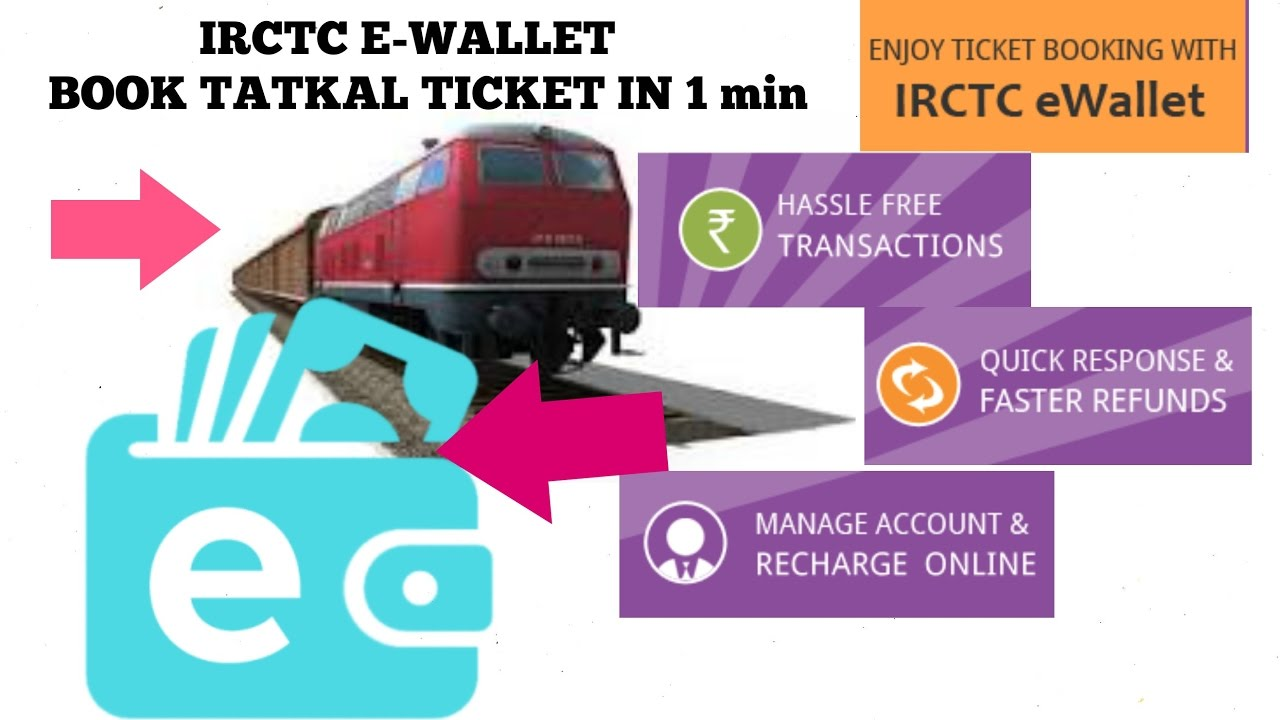 Image result for IRCTC e-wallet