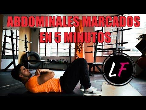 Abdominales marcados en 5 minutos | LOCURA FITNESS