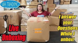 Live Unboxing From VIA Trading Purchase Q&A During Unboxing What did I say during the Live Stream?
