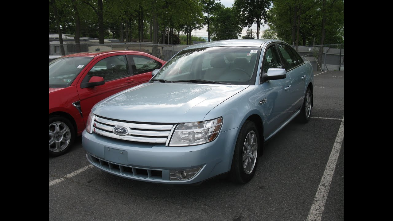 2008 ford taurus sel start up and tour
