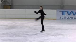 Прыжок в либелу в исполнении Аделины Сотниковой