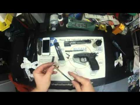 CZ75B simple disassembly and cleaning