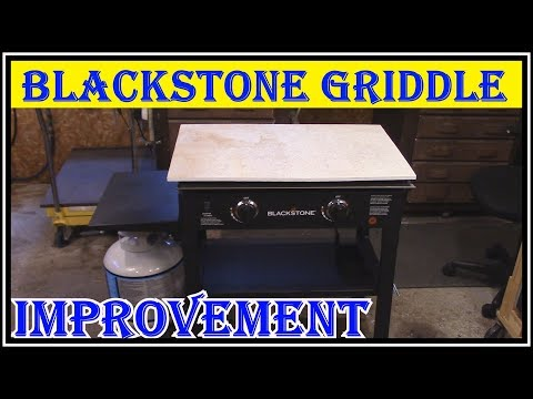 GREAT IMPROVEMENT TO THE BLACKSTONE GRIDDLE - NO MORE MESS