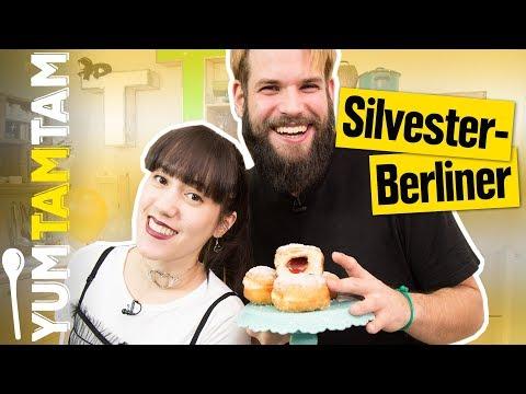 PFANNKUCHEN oder BERLINER? Das ist hier die Frage! // Silvester-Berliner mit Marmelade // #yumtamtam