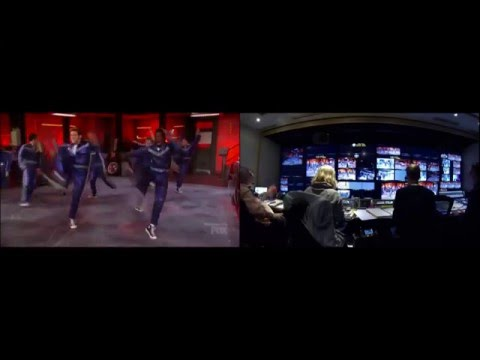 Grease: Live - Control Room Split Screen