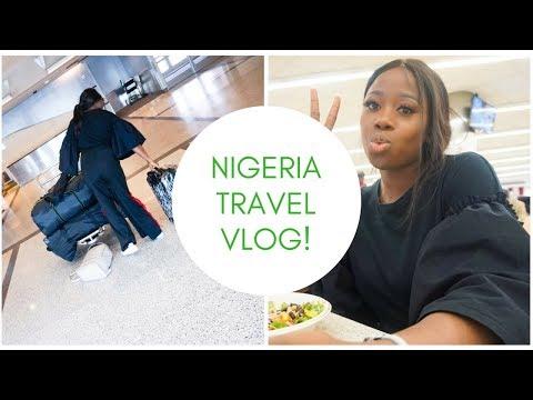 My First Vlog traveling to Nigeria || Naija travel vlog 2018 || #1