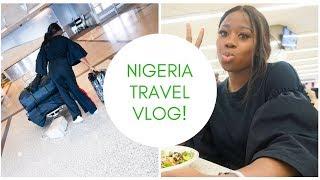 My First Vlog traveling to Nigeria || Naija travel vlog 2018 #01