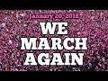 Everything you need to know about women's march 2018 - scarlett johansson  is coming too!
