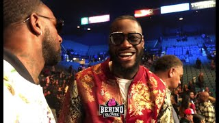 DEONTAY WILDER CONFIRMS REMATCH IS HAPPENING W/ TYSON FURY POSSIBLY IN MAY IN LAS VEGAS