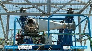 Safran teste le moteur du futur à Pau