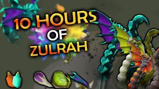 Loot From 10 Hours Of Zulrah
