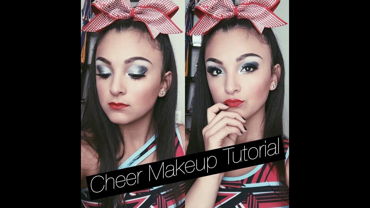 Cheer makeup tutorialsantanna garcia youtube cheer makeup tutorialsantanna garcia baditri Image collections