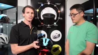 Innovative Coros Bike Helmet with Bone Conduction Speakers