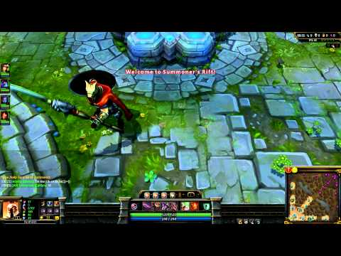 GLAIVE WARRIOR PANTHEON skin NO ABILITIES ANIMATION League Of Legends