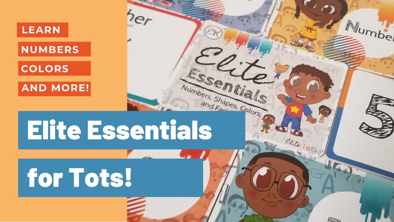 Elite Essentials: Learn Numbers, Colors, Shapes, and Family