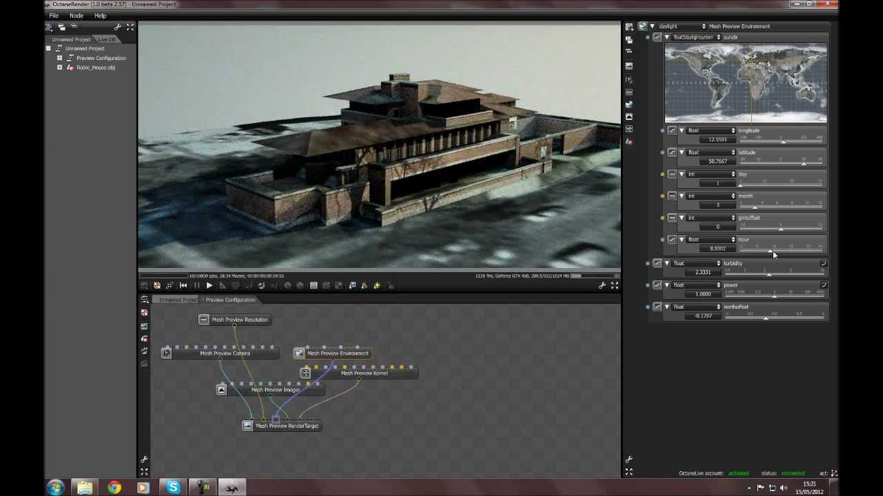 Octane render tutorial series v3: animated textures 35 youtube.